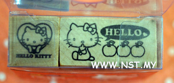 Hello kitty stamper Mix